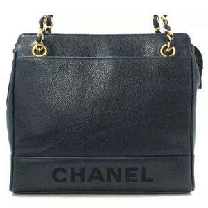 🚨FINAL SALE 🚨NAVY Zippered Chanel caviar bag